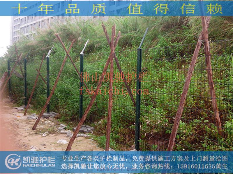 新塘荔湖城桃形柱围网_第0张