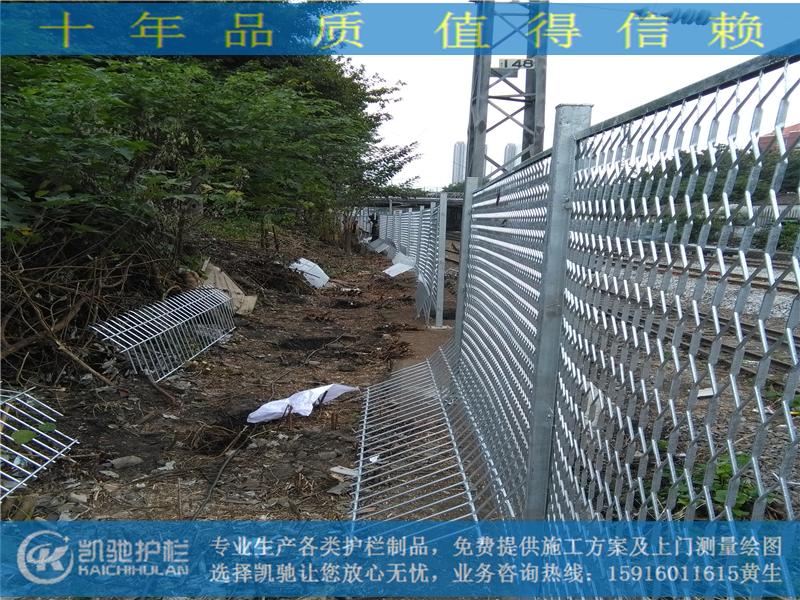 广州火车站防爬栅栏_第1张